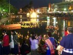 ลอยกระทง - Loy Krathong's Day is an annual festival held in Thailand.