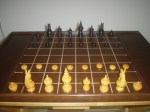 "หมากรุกไทย - ""Makruk"" Thai chess, is a board game descended from the 6th-century Indian game of chaturanga or a close relative thereof, and therefore related to chess."